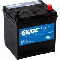 EXIDE Excell 50 Ah (EB 504)