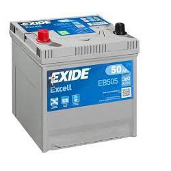 EXIDE Excell 50 Ah (EB 505)