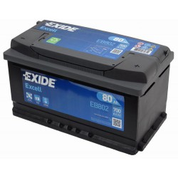 EXIDE Excell 80 Ah (EB 802)