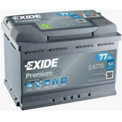 EXIDE Premium 77 Ah (EA770)