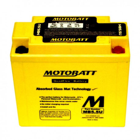 Motobaterie MOTOBATT MB5.5U 7 Ah