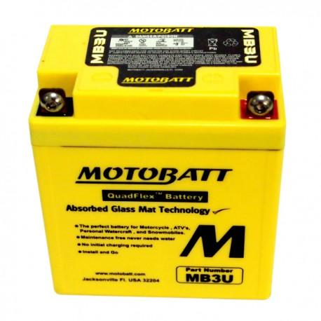 Motobaterie MOTOBATT MB3U 3.8 Ah