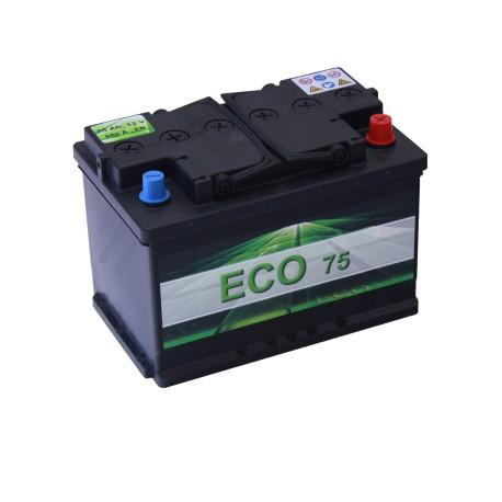 Autobaterie ECO 75